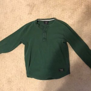 Abercrombie and Fitch thermal button shirt
